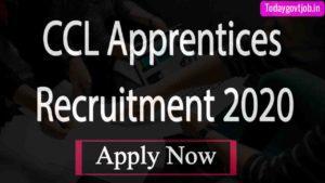 CCL Apprentices Recruitment 2020
