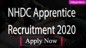 NHDC Apprentice Recruitment 2020