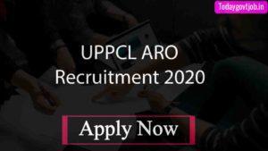 UPPCL ARO Recruitment 2020