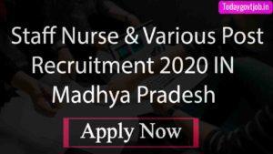 MP PEB Group V Recruitment 2020