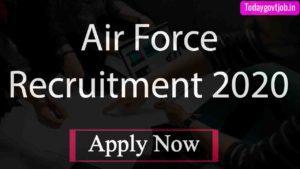Air Force Recruitment 2020