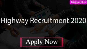 Highway Recruitment 2020