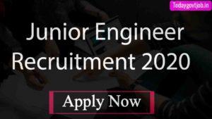 Junior Engineer Recruitment 2020