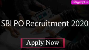 SBI PO Recruitment 2020