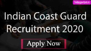 Coast Guard Assistant Commandant Recruitment 2020