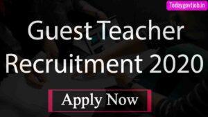 Guest Teacher Recruitment 2020