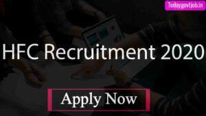 HFC Recruitment 2020