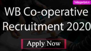 WB Co-operative Recruitment 2020