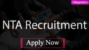 NTA DU Recruitment 2021