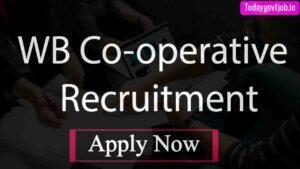 WB Co-operative Recruitment 2021